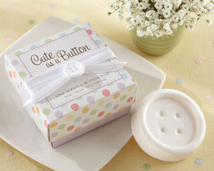 Cute as a Button Scented Button Soap