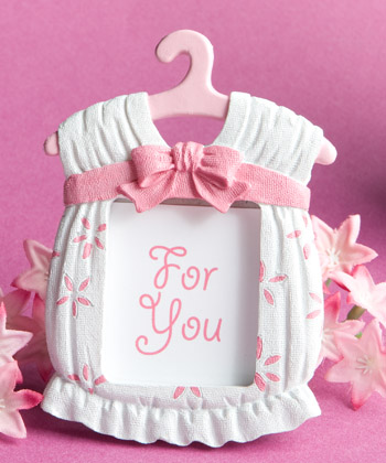 Cute baby themed photo frame favors - girl or boy