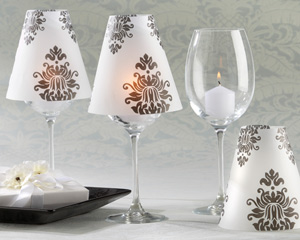 Damask Vellum Shades (Set of 24)