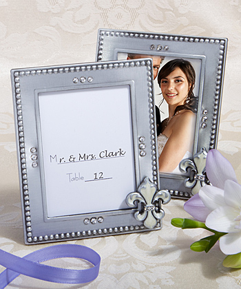 Fleur de lis picture frames