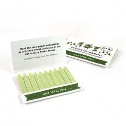 Herb Matchstick Garden Favor