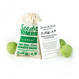 Herb Seed Bombs Favor