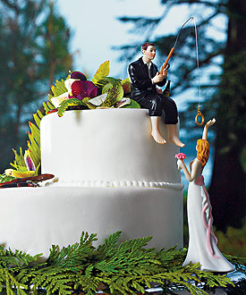 Hooked on Love Groom Figurine