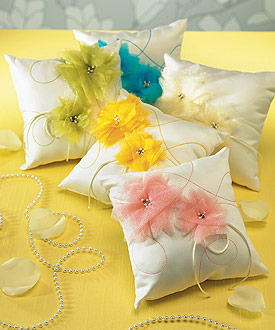 I Do . . . Color Ring Pillow