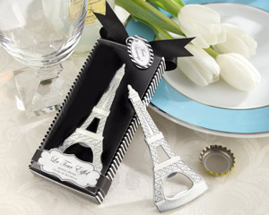 La Tour Eiffel Chrome Bottle Opener