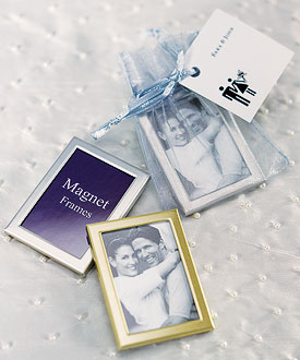 Magnet Back Mini Photo Frames - set of 3