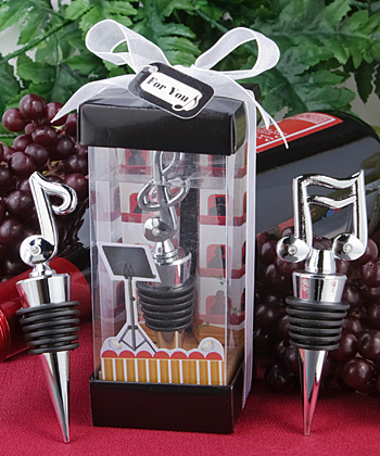 Music themed bottle stopper-Music themed bottle stopper