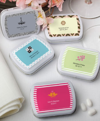 Personalized Expressions Collection mint tins