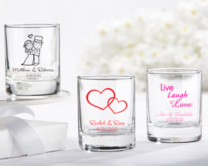 Personalized Shot Glass - Votive Holder
