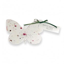 Plantable Butterfly Favor