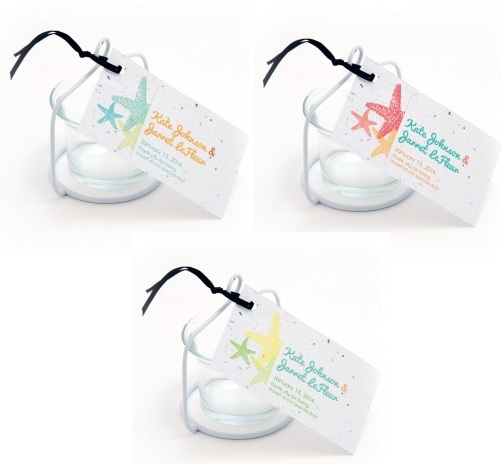 Plantable Starfish Favor Tag