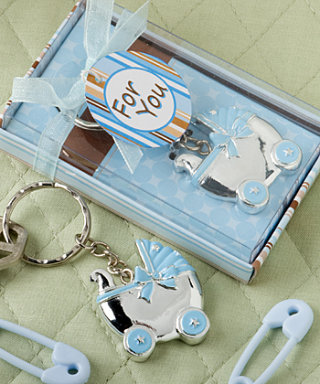 baby carriage design key chains