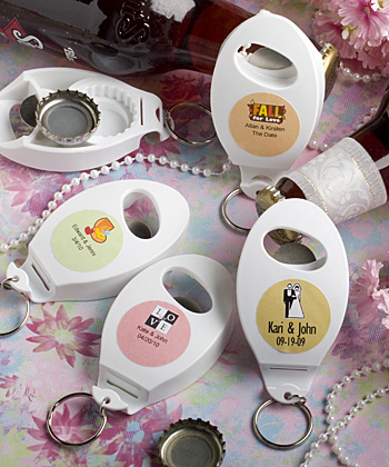Personalized Expressions Collection bottle opener - key chain favors