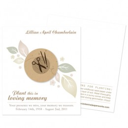 Crafter Memorial Cards