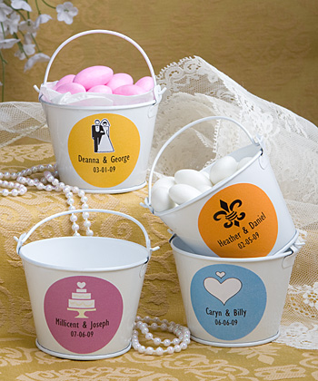 Personalized Expressions Collection pail favors