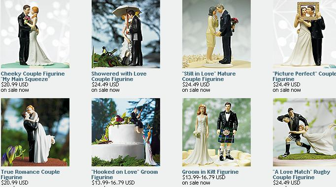 Weddingstar Cake Topper Collection
